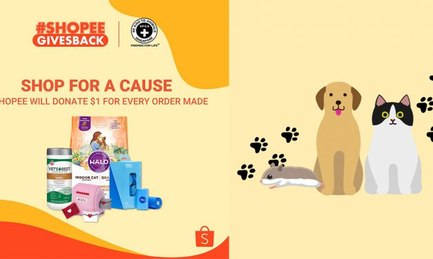 Help a paw in need by donating your Shopee Coins to the Society for the Prevention of Cruelty to Animals