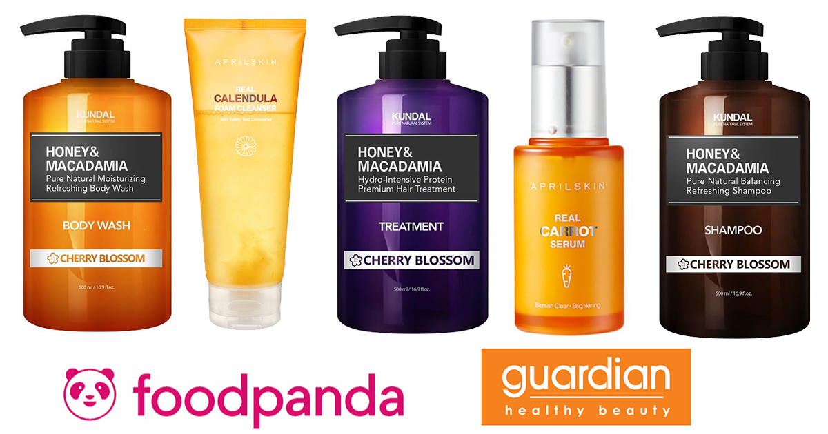 Over 280 health and beauty products now available on foodpanda shops, with promised delivery times of under an hour