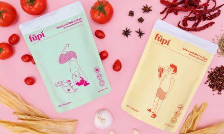 Fǔpí (腐皮) Beancurd Skin Snack – it's like fun-flavoured niang Doufu in a packet