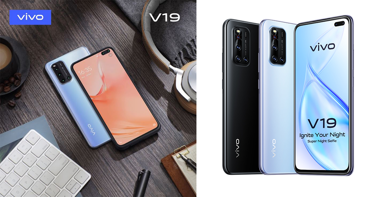 The new vivo V19 features a dual-front 32MP + 8MP camera bringing superb selfie experience for only S$599 - Alvinology