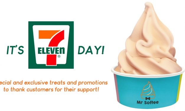 7-Eleven celebrates 7.11 Day with 35,000 FREE Mr Softees! Claim yours!