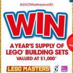 LEGO fans rejoice! You can win a year's supply of LEGO building and here's how –