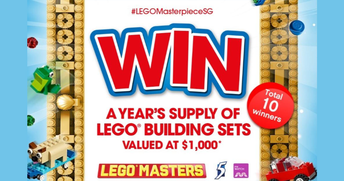 LEGO fans rejoice! You can win a year's supply of LEGO building and here's how - - Alvinology