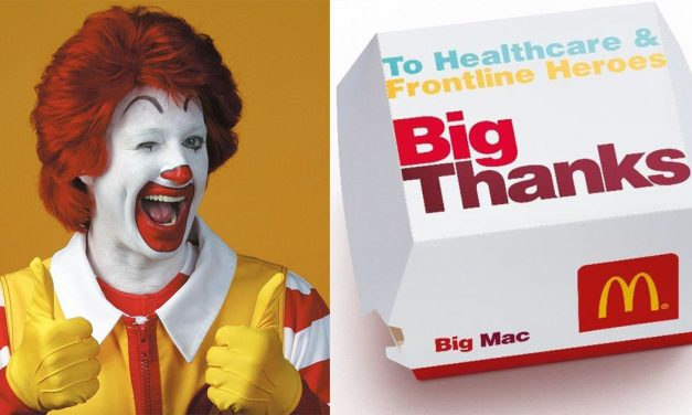 "Say ""Big Thanks"" to all frontline heroes by purchasing McDonald's Big Thanks Burger this 1 – 5 August"