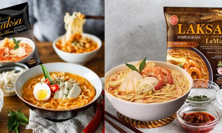 Prima Taste Laksa LaMian – satisfy your noodle craving with one of the world's top instant noodle for five straight years!