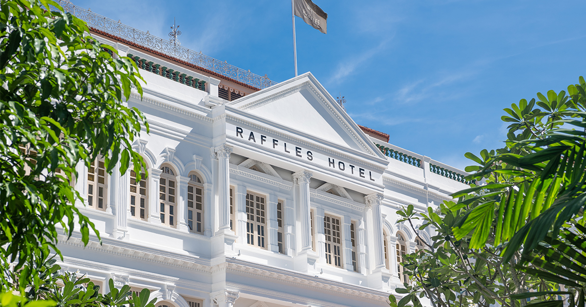 Raffles Hotel Singapore introduces 3 exciting staycation offering exclusive privileges and special discounts - Alvinology