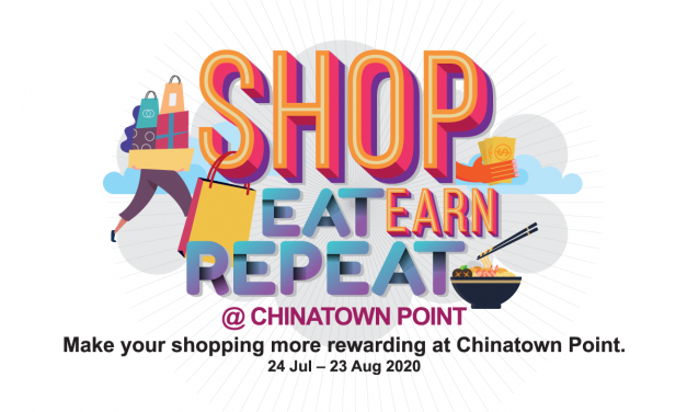 Shop. Eat. Earn. Repeat. at Chinatown Point