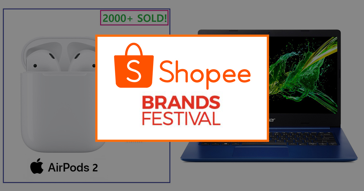 Shopee Brands Festival – enjoy up to 70% off on your favourite brands on Shopee! - Alvinology