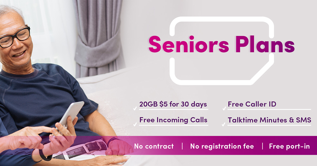 TPG Telecom launches $5 mobile plan for seniors – 20GB of data, 300 minutes call, and more for 30 days - Alvinology