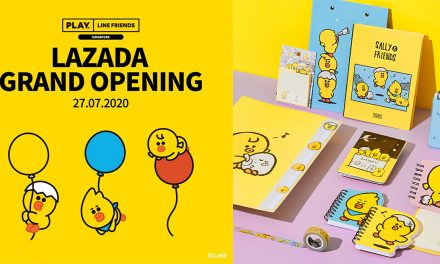 [PROMO] PLAY LINE FRIENDS Online Flagship store launches on LAZADA today – 30% off on selected items!