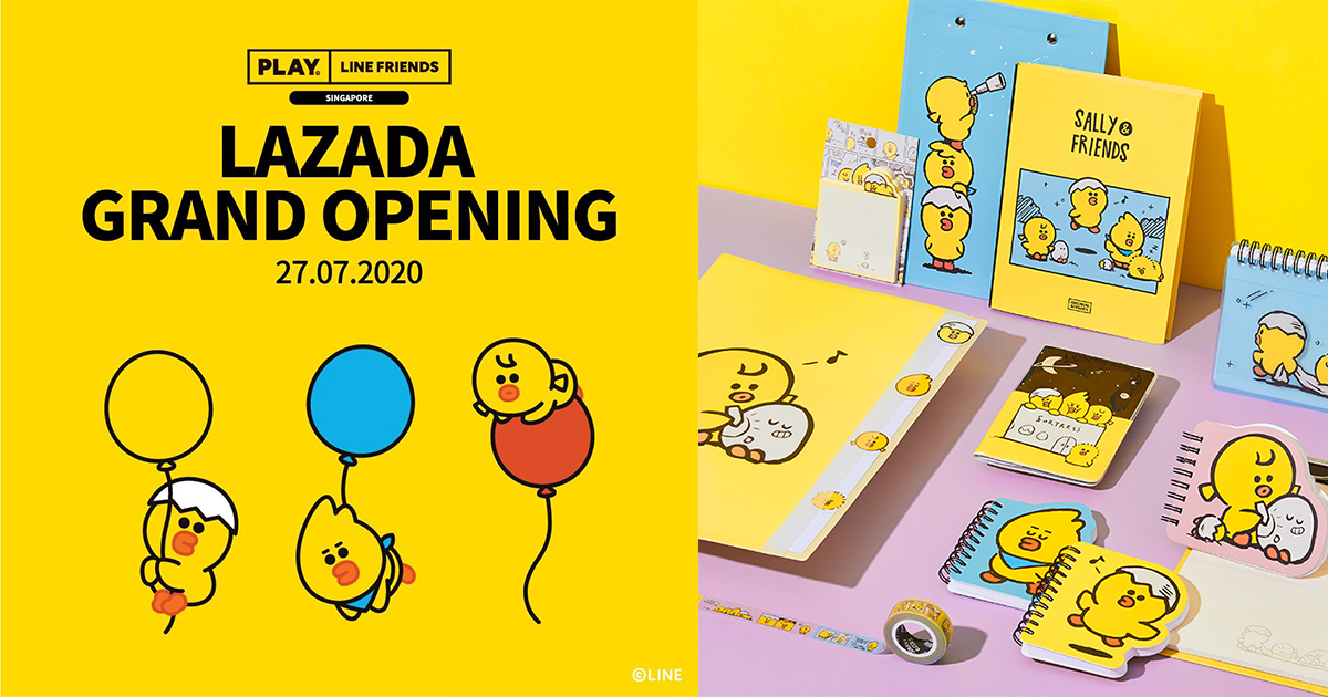 [PROMO] PLAY LINE FRIENDS Online Flagship store launches on LAZADA today – 30% off on selected items! - Alvinology