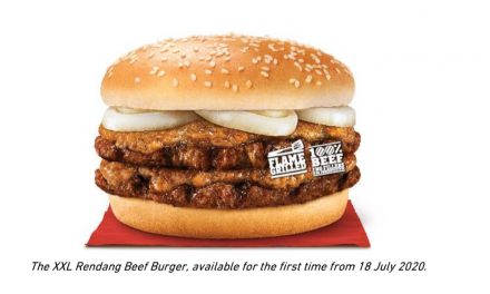 XXL Rendang Beef Burger anyone? Burger King has just upsized their fan favourite for a limited time only