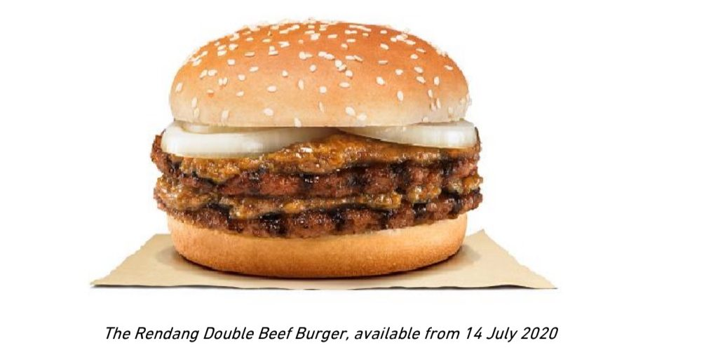 XXL Rendang Beef Burger anyone? Burger King has just upsized their fan favourite for a limited time only - Alvinology