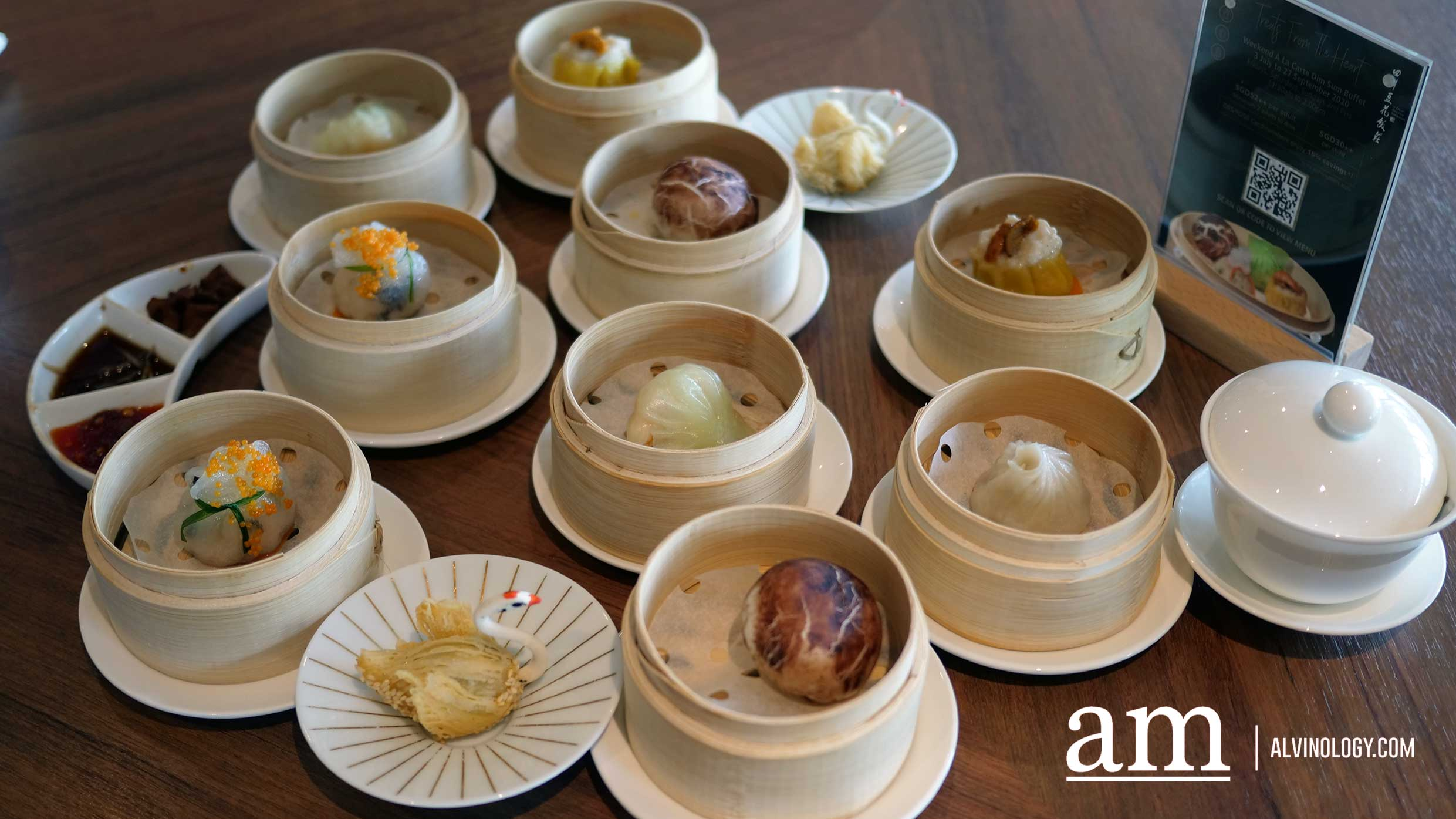 [Weekend Eats] Dim Sum Buffet at Si Chuan Dou Hua Restaurant (PARKROYAL On Beach Road) - Alvinology