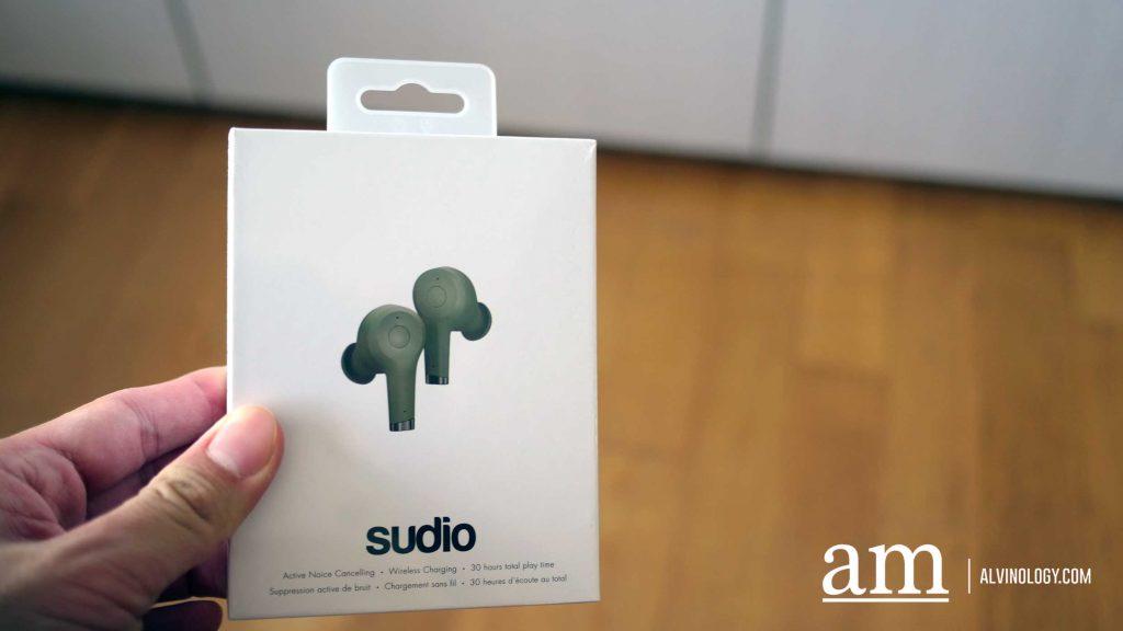 [GIVEAWAY + PROMO CODE] NEW Sudio Ett True Wireless earphones with Active Noise Cancelling - Alvinology
