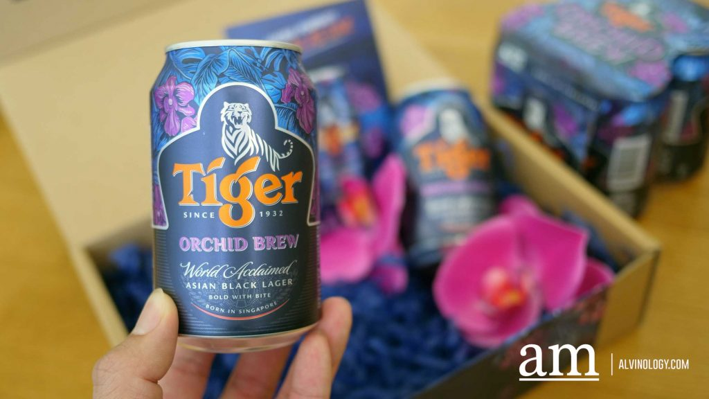 Specially for Singapore's National Day - Limited Edition Tiger Orchid Brew - Alvinology