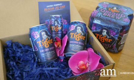 Specially for Singapore's National Day – Limited Edition Tiger Orchid Brew