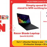 7-Eleven celebrates National Day with a lucky draw that allows you to win a Razer Blade laptop just by spending $5