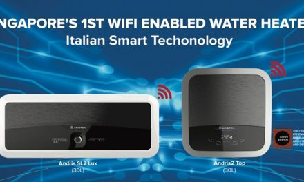 SG's first-ever WiFi-enabled Smart Water Heater is here! Remotely control, 30L capacity, and now comes in slim design!