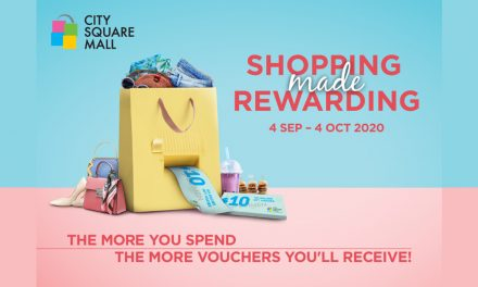 Start September with a Shopping Spree at City Square Mall! The more you spend, the more rewards with 2-hour FREE parking on weekdays!