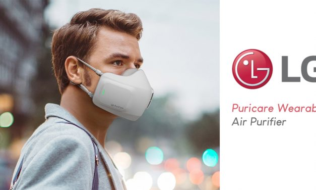 LG unveils PuriCare Wearable Air Purifier – filters, kills, rechargeable, and can even send notifications to the LG ThinQ mobile app