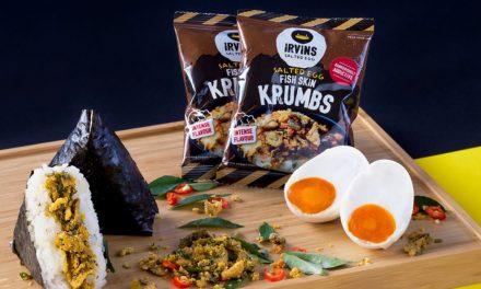 [PROMO INSIDE] 7-Eleven introduces another irresistible onigiri creation – 7-Eleven x Irvins Salted Egg Fish Skin Krumbs Onigiri!