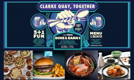 [PROMO CODE INSIDE] Clarke Quay unveils 3+1 Promotion and a CapitaStar Promo Code that lets you earn 5,000 points instantly!
