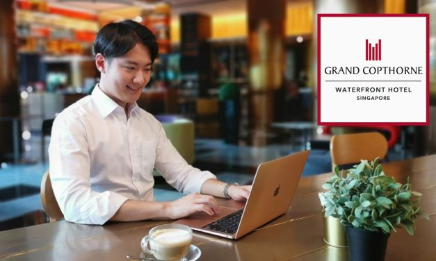 """Grand Copthorne Waterfront Hotel opens new coworking space for the best """"Work from Hotel"""" experience – Special Early Bird Price for the first 50 sign-ups!"""