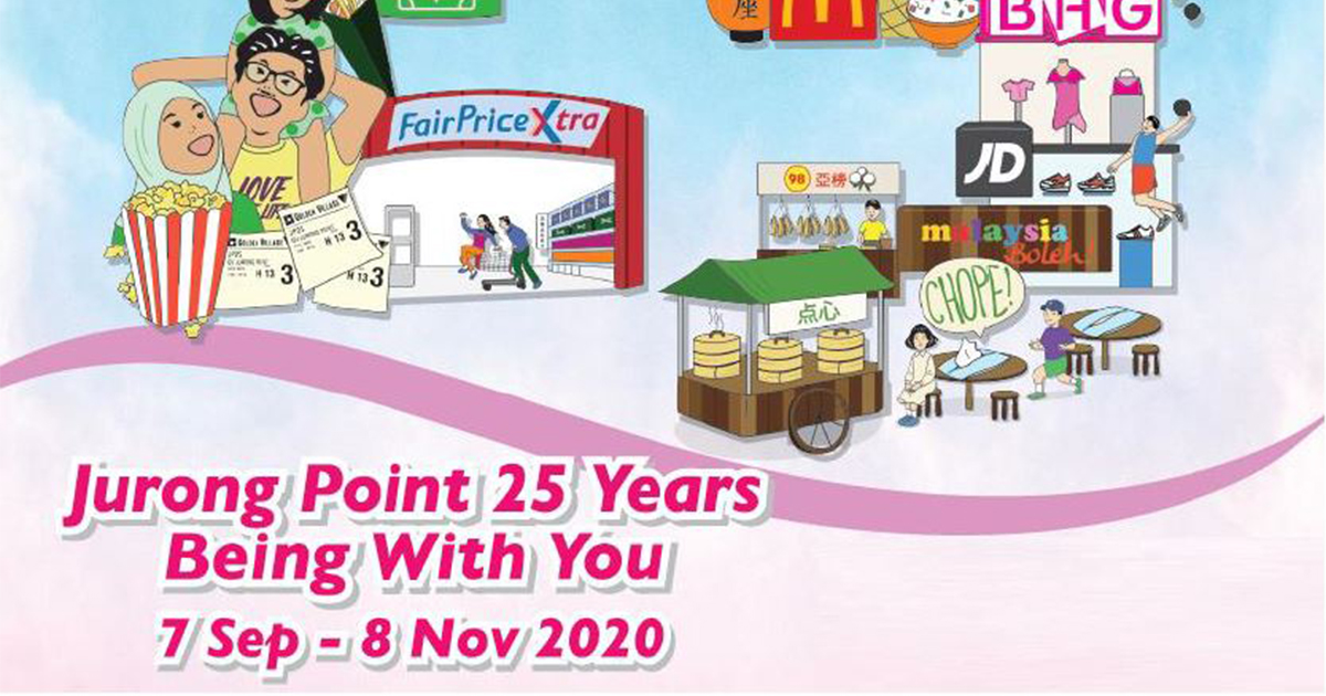 [PROMO] Jurong Point celebrates 25 years with instant cash savings, discounts, and prizes! Here's everything you need to know - Alvinology
