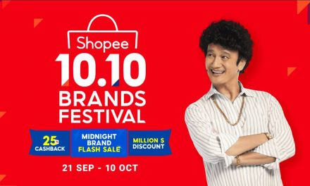 Upcoming Shopee 10.10 Brands Festival to showcase Daily Midnight Brand Flash Sale, Daily 25% cashback, Daily Million $ Discount, and more!