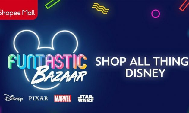Disney Funtastic Bazaar is now on Shopee for its 9.9 Super Shopping Day featuring exclusive Disney merchandise and over $10,000 worth of prizes!