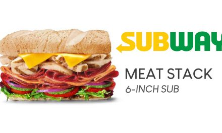 This new Subway Meat Stack Sub packs a punch full of meat! Grab a bite for only $8.90!