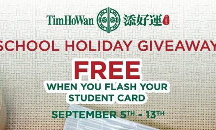 [PROMO] Students can enjoy a FREE dish at Tim Ho Wan this September school holidays!