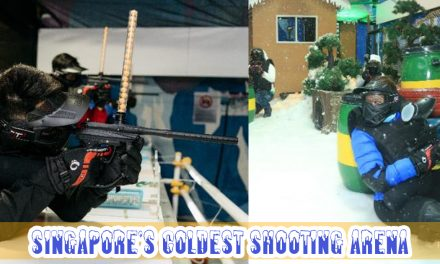 Winter Shooting Arena is here! Test your shooting skills, compete, and fun at the coldest battlefield in Singapore!