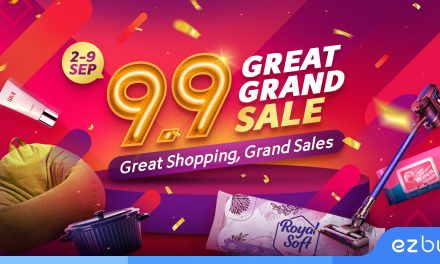 [PROMO] ezbuy 9.9 Great Grand Sale – enjoy $90,000 worth of free cash vouchers and giveaways from now till 9 September!