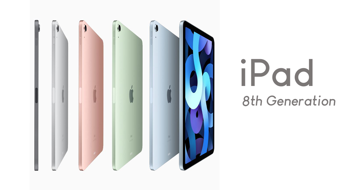 The Eight-Generation iPad is finally here with a huge jump in performance featuring A12 Bionic chip, great cameras, and so much more! - Alvinology