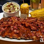 Love Meat to the Extreme? Try Morganfield's NEW Bourbon Bacon Sticky Bones