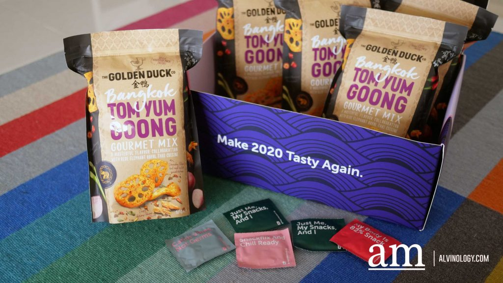 The Golden Duck Introduces New Bangkok Tom Yum Goong Gourmet Mix Snack with Blue Elephant Royal Thai Cuisine - Win up to S$555 Cash - Alvinology