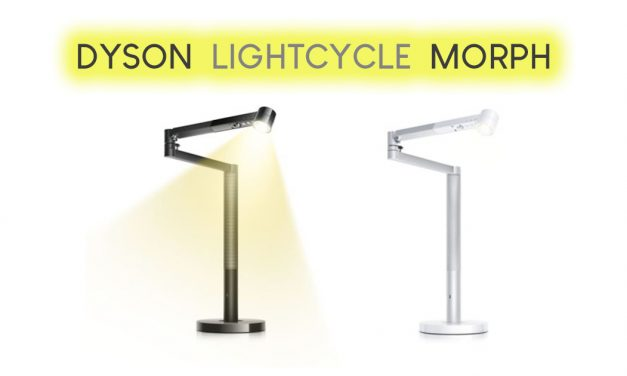 Dyson Lightcycle Morph – tracks natural daylight and intelligently transforms for different uses; real power-saver