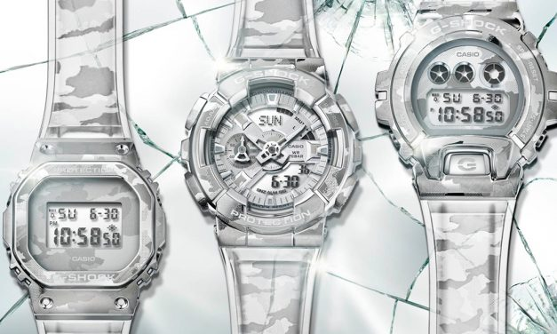 What can you say about the all-new G-SHOCK Skeleton Camouflage Series?