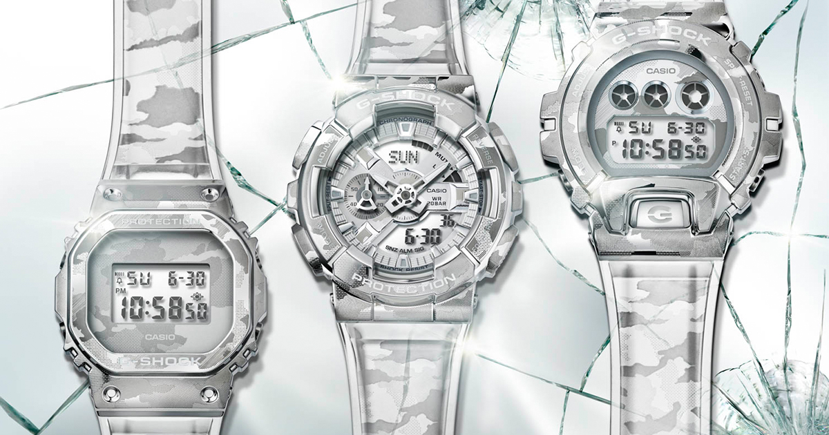 What can you say about the all-new G-SHOCK Skeleton Camouflage Series? - Alvinology