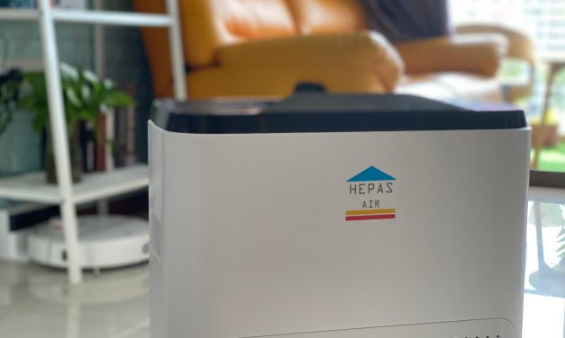 [Review + Giveaway] HEPAS Air Purifier: Fuss-Free, No-Frills, Affordable Choice that Works