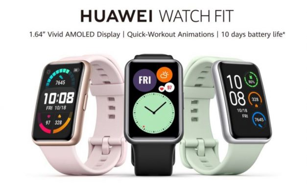 HUAWEI WATCH FIT – Your Everyday Smartwatch – pre-order on 17–23 October and enjoy exclusive premiums worth S$116!
