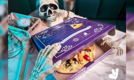 A limited-edition Ouija-Inspired Pizza will be available this Halloween on Deliveroo and PizzaExpress