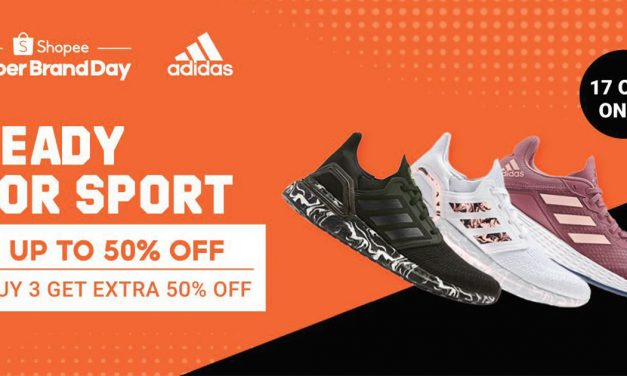 [SALE+GIVEAWAY] adidas Super Brand Day on Shopee – up to 50% off from today till 17 October!