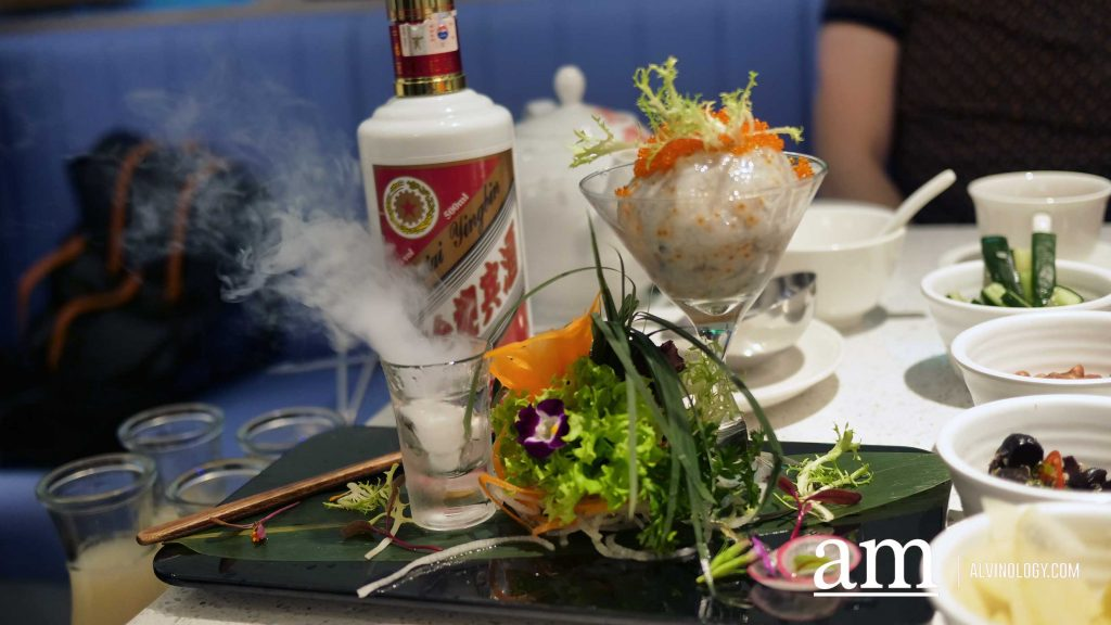 Beauty in The Pot: Flaming Moutai Herbal Drunken Chicken Broth, only at NEX - Alvinology