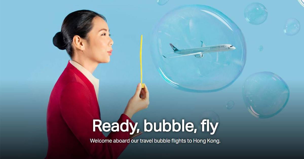 Cathay Pacific to launch Air Travel Bubble flights between Singapore and Hong Kong starting 22 November – first batch gets a special gift! - Alvinology