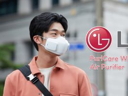 This new mask by LG filters 99.95 per cent of airborne matter, a Wearable Air Purifier that allows the wearer to breathe pure, filtered air - Alvinology