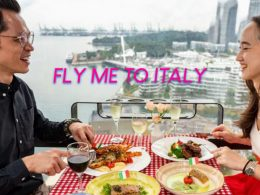 "Embark on a gastronomical journey at Cable Car Sky Dining's ""Fly Me To Italy"" package for two - Alvinology"