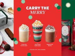 Starbucks Singapore carry the Merry this Christmas with legendary coffee brews, festive-themed drinkware, cool gifting ideas! - Alvinology
